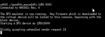 Unhandled Vendor Request in USB