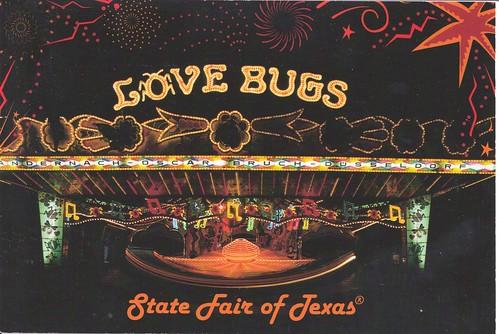 Texas State Fair Love Bug Ride