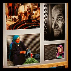 Part of my art work at #GTFAmman features #Women In #Jordan. Thank @leadersot for the pic, I totally forgot to take one :) #Amman #Photography