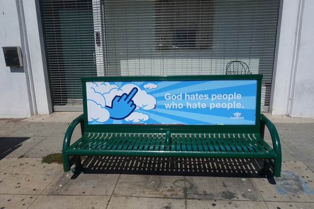GOD HATES PEOPLE WHO HATE PEOPLE