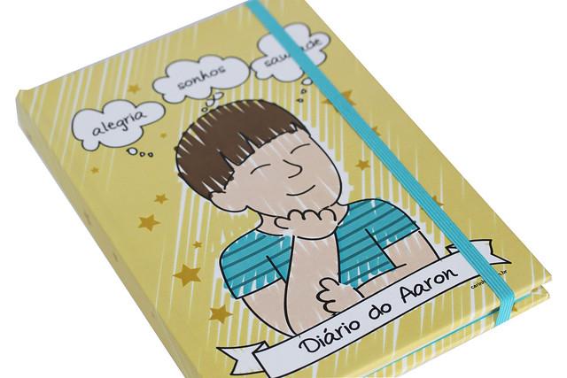 Caderno do Aaron - Maria Papel + Carinhas Personalizadas