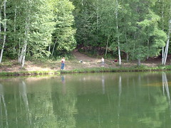 Christian Sportsman posted a photo:	CSF Pond Project Houlton Maine