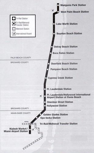 TriRail 2011 Map