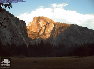 Half Dome Web Cam 10-9-12