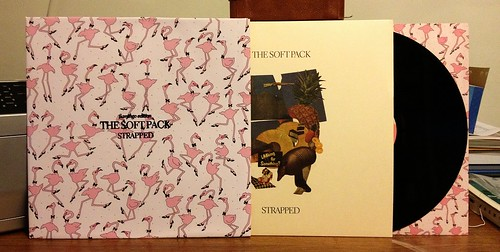 The Soft Pack - Strapped LP - Flamingo Edition (/300) by Tim PopKid