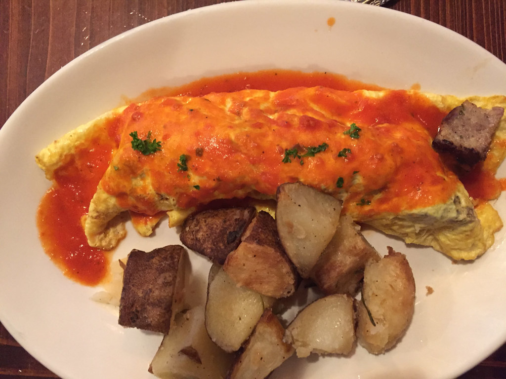 Uptown Omelet at Red Gravy