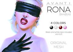 Avanti @ Fetish Fair 2016: Rona Blindfold