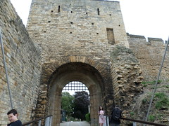 Lincoln Castle - west gate