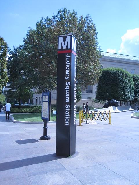 Judiciary Square Metro