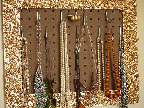 Jewelry Organization Wall