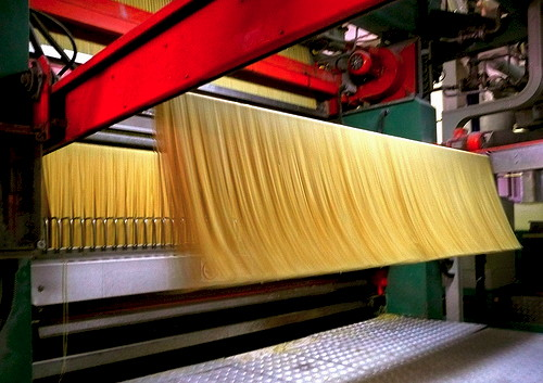 Produzione spaghetti
