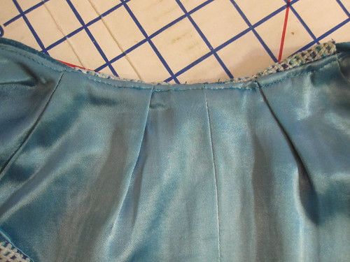 Understitch Lining at Neckline