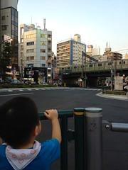 夕方散歩 (2012/8/31)