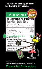 Thin Mints: Now Featuring 100% of the RDA for Financial Education