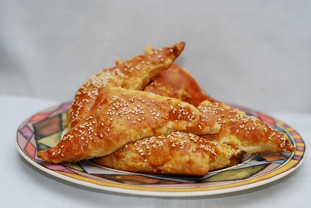 Butternut squash turnovers recipe, puff pastry, pumpkin