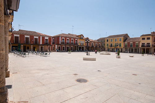 La Plaza Mayor de Villalpando