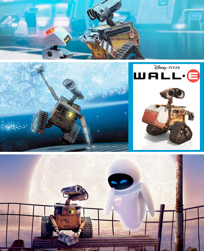 Wall E Collage
