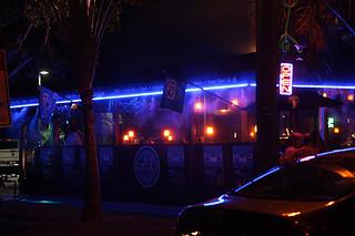 Outside, Blu Que Island Grill, Siesta Key, Sarasota, FL