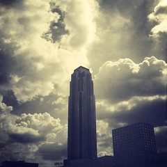 Williams Tower & Clouds
