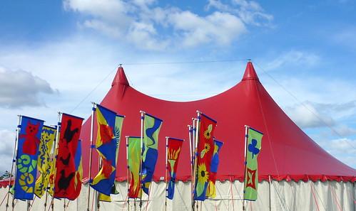 Shrewsbury Folk Festival 2012 - Main Marquee