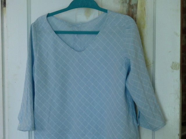 Men's shirt refashion - complete