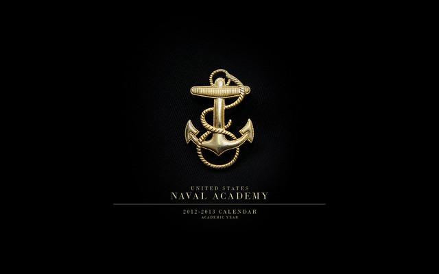 Us Navy Images Logo Wallpaper: USNA Desktop/Wallpaper Calendar (2012-2013 Academic Year