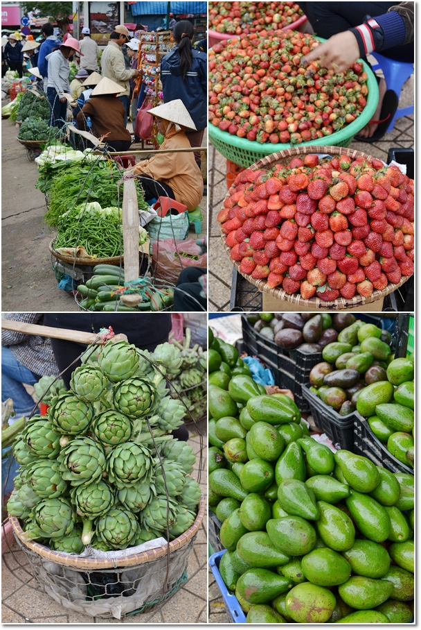 Fresh Produce from Dalat