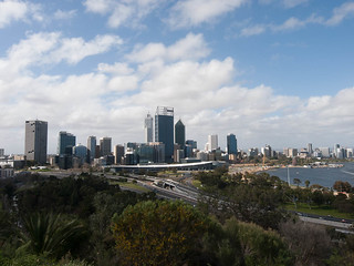 Perth from near Kings Park