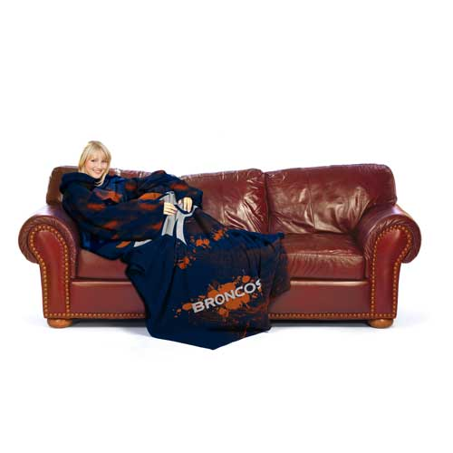 Denver Broncos Huddler Blanket