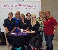 "Moberly Correctional Center Corizon employees attend ""healthy woman"" event"