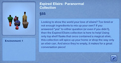 Expired Elixirs - Paranormal Collection