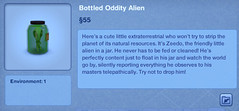 Bottled Odity Alien