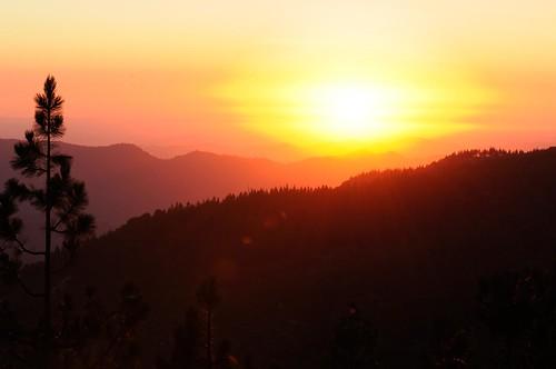sunset kingscanyonnationalpark