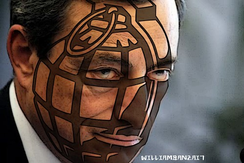 HUMAN GRENADE DRAGHI by Colonel Flick