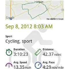 Ride to Remember, Poth, Tx. My very first charity ride.  #cycling #biking #ride #milestone #ridetoremember #poth #texas