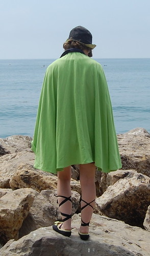 1920s Bathing Cape