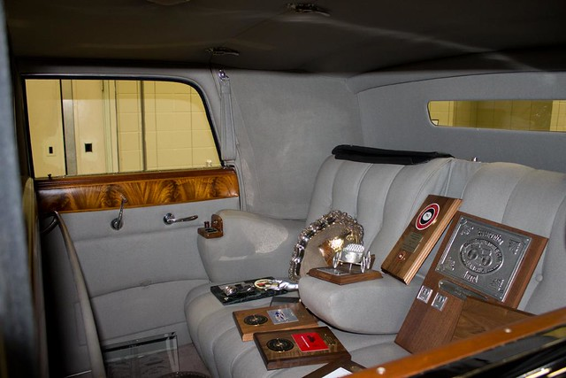 Lincoln 1938 Seat