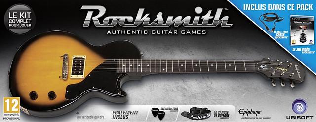 Rocksmith - Guitare Epiphone Les Paul Jr. de la marque Gibson