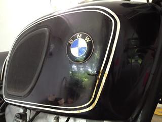 BMW R75/5 Tank
