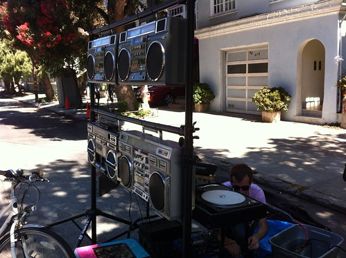 Boombox Soundsystem at Sunday Streets