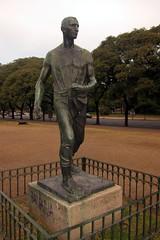 Buenos Aires - Recoleta: Plaza Rubén Darío - El Sembrador