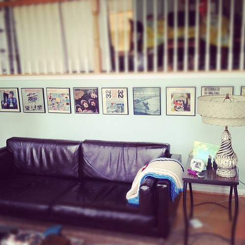 Album art wall yay!
