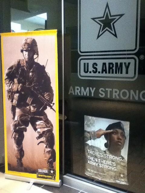 美国征兵广告