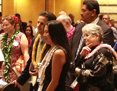 <p>Some of the Hawai'i delegation at IUCN's World Conservation Congress in Jeju, South Korea.</p>