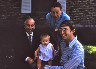 Louisiana   -  New Orleans  -  232-20th Street  -   Big Daddy, Syl, Jessica & John   -   April 1974