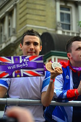 Paralympic table tennis player Will Bayley and his special Cadbury's box