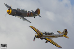 G-YCII & G-BXJB - Private - Yakovlev LET C-11 & Yakovlev Yak-52 - 120826 - Little Gransden - Steven Gray - IMG_4761