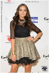 Olivia Culpo, Miss USA at Korto Momolu NYFW SS13