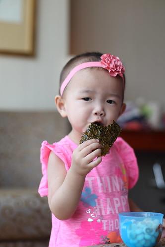ohhh, yummy seaweed!