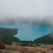 Garibaldi Lake from foggy Clinker peak